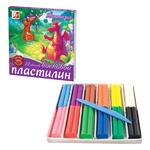 ПЛАСТИЛИН 12ЦВ.ФАНТАЗИЯ