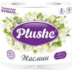 PLUSHE Бумага Deluxe Light 4шт 3-х сл жасмин