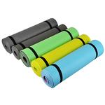 Коврик для йоги 140x50 (+/- 1%) x0.6см пенополиэтилен. 5 цветов