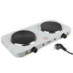 LEBEN Плитка электрическая двухконфорочная 2000Вт нагр. эл. диск d15.5см