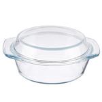 Satoshi Кастрюля жаропрочная  с крышкой стекло 23*20*9,5 см 825-001