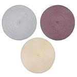 Салфетка плетен.пластик  д-39 см  890-019