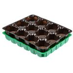 Набор д/выращивания рассады  (торф.табл.+кассета+пластик.лоток) 179-059