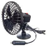 NEW GALAXY Вентилятор салона 12.5см на присоске пластик 12В