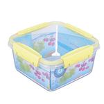 Контейнер для продуктов герметичный Butterfly квадрат 1.2л (156х156х84мм)