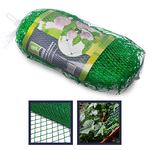 INBLOOM Сетка садовая для вьющихся растений 2х10м. пластик. зел.. размер ячейки 15х15см