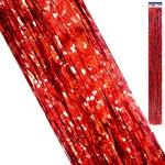 Дождик Kwelt 9,5*96см красный K-06428