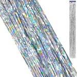 Дождик KWELT 9,5*96см серебро K-1231