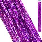 Дождик KWELT 9,5*154см голография фиолетовый K-06402