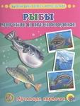 Обучающие карточки. Рыбы морские и пресноводные