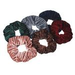 Резинка для волос. d=10 см. полиэстер. 6 цветов. РВ-01