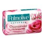 ПАЛМОЛИВ  мыло  90г Ощущение нежности роза,молочко