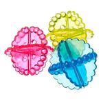 Набор мячей д/стирки  белья 3 шт ПВХ д-5,5 см 452-009