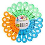 Набор прищепок 20 шт пластик  453-019