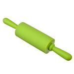 Скалка мини. силикон. пластик. 23х4см. 4 цвета