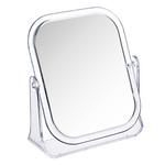 Зеркало настольное прямоугольное. 15х18см. пластик прозрачный