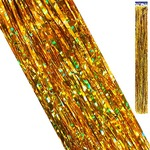 Дождик Kwelt голография золотой K-06416