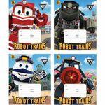 ТЕТРАДЬ 24 ЛИСТОВ КЛЕТКА 'БИДЖИ':ROBOT TRAINS,3827